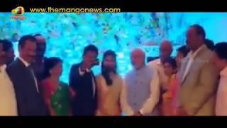 PM Modi Surprise Entry At TDP MP Ram Mohan Naidu Wedding Reception | Mango News