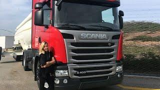 Tırla Nasıl Drift Yapılır ? Bir Lansman Günü VLOG - Scania