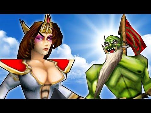 Warcraft 3 - Human Suspicions (1v1 #174)