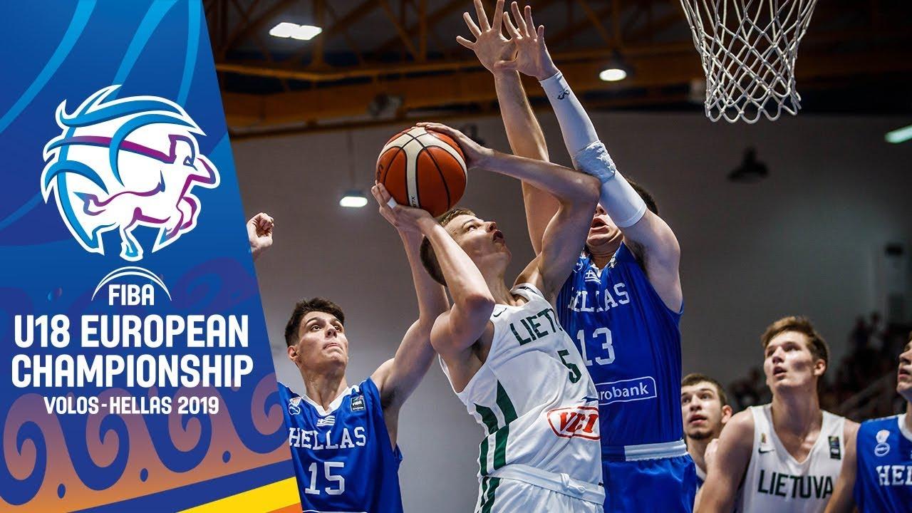 Lithuania v Greece - Highlights - Quarter-Final
