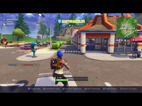 Fortnite with Bart!!