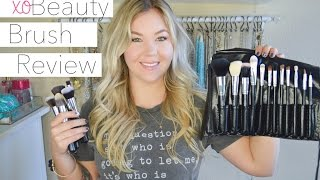 XOBeauty Makeup Brush Set Review | Essential Set, Face Set, & Eye Set