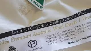 호주 럭셔리 실크겉감 양모이불 구매 직구