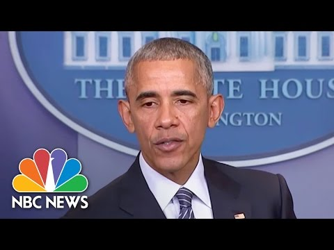 President Obama To Donald Trump On DACA: Think Long And Hard On Endangering Dreamers   NBC News
