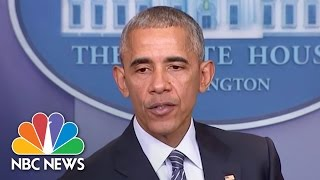 President Obama To Donald Trump On DACA: Think 'Long And Hard' On Endangering Dreamers | NBC News