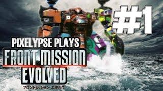"Pixelypse Plays ""Front Mission Evolved"" Part 1"