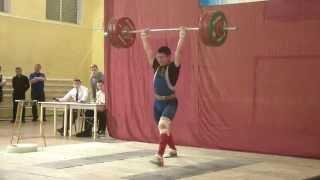 Тяжёлая атлетика Торопов Влад, 17 лет,вк 77 Толчок 150 кг