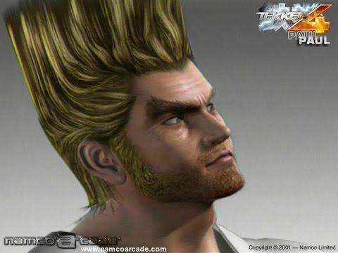 E24K's Tekken 4 - Paul Phoenix Story Battle Playthrough