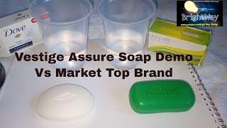 Vestige Assure Soap Demo Vs market Top brand