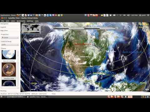 google earth alternative! ubuntu 12.04