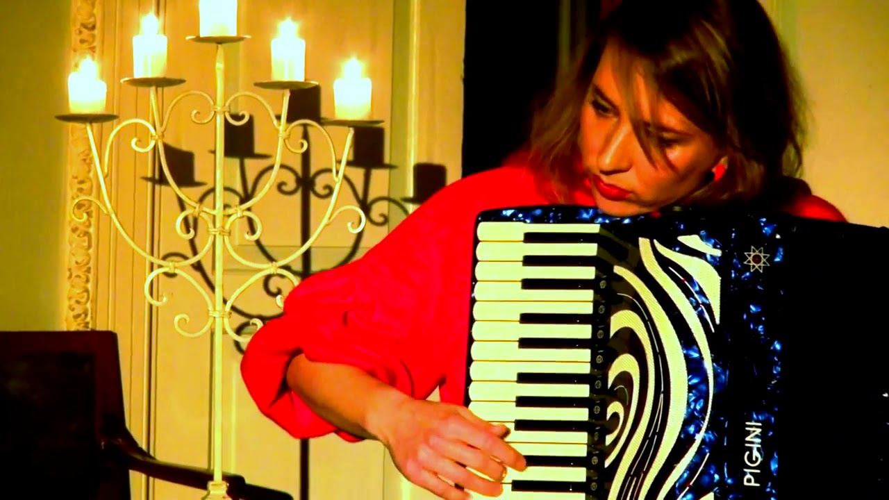 Tuulikki Bartosik free-bass accordion solo original music from the album  Storied Sounds