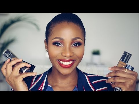 My 5 BEST FOUNDATIONS FOR OILY SKIN   DIMMA UMEH