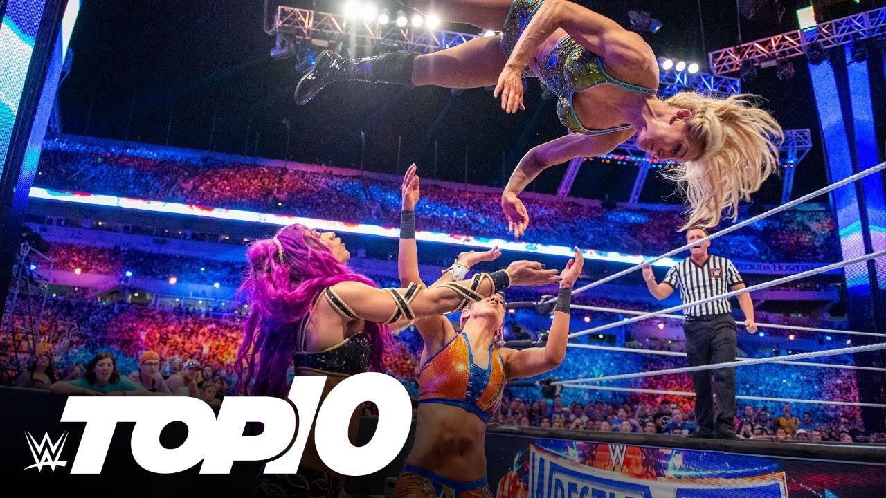 Stunning Charlotte Flair moves: WWE Top 10, Feb. 24, 2021