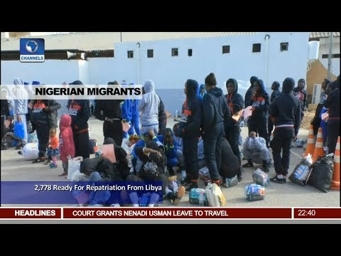 2,778 Migrants Ready For Repatriation From Libya Pt.3 |News@10| 05/12/17