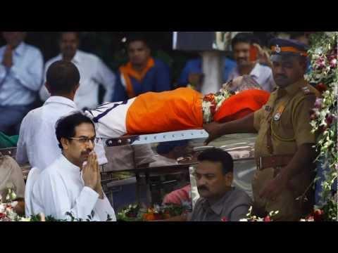 Bal Thackeray's funeral photos
