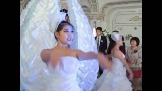 Шикарный вывод невесты из цветка 87054255818