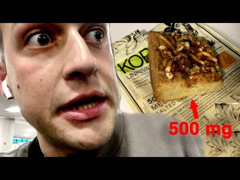 i ate too much of an edible on my flight home   i wish this was clickbait |  Chris Klemens