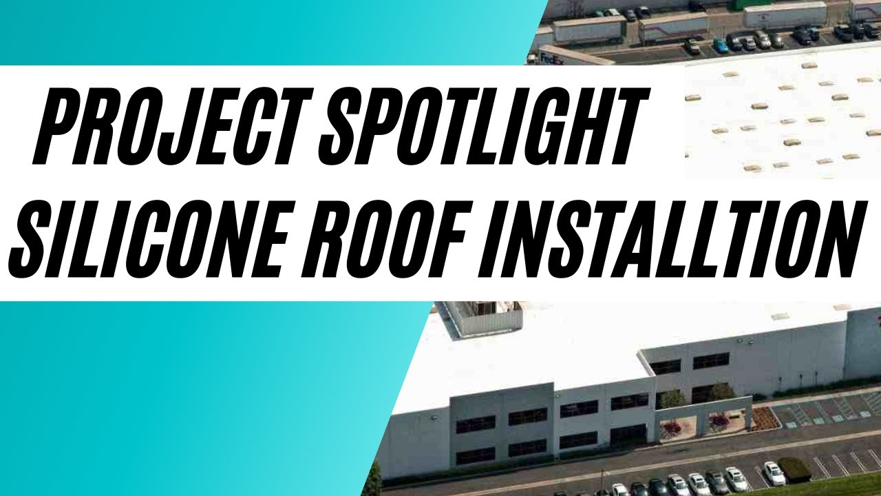 Installation Of Tropical Silicone Roof Coating System By Central Roofing  Company