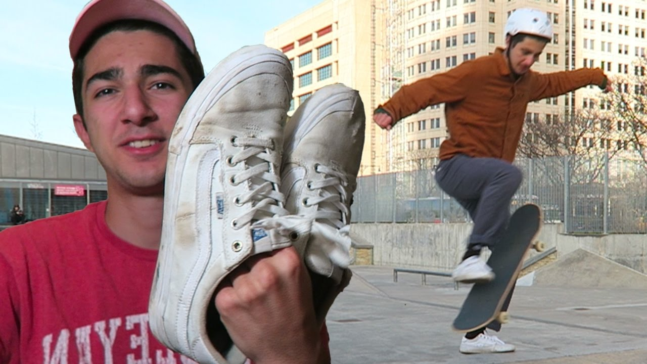 7fa15dd104 Best CANVAS Skate Shoes  (Vans Style 112 Full Review) - YouTube