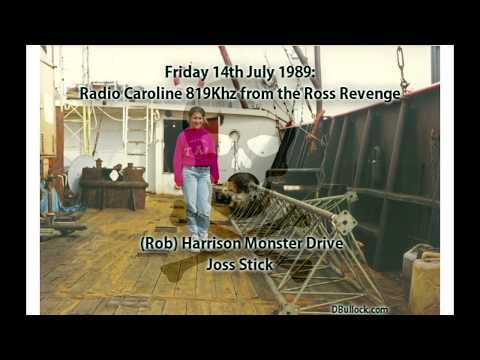 Caroline 819 ~ 14/07/1989 ~ Offshore Pirate Radio [R036]  EDITED