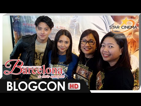 [FULL] 'Barcelona: A Love Untold' Bloggers Conference