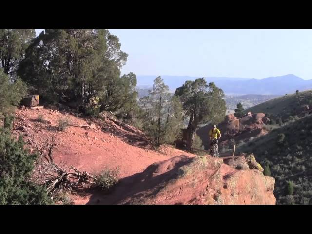 Mountain Biking:Red Rocks Colorado