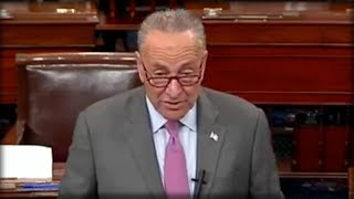CHUCK SCHUMER THOUGHT HIS MIC WAS OFF WHEN HE STARTED TALKING ABOUT TRUMP - IT WAS ALL RECORDED...