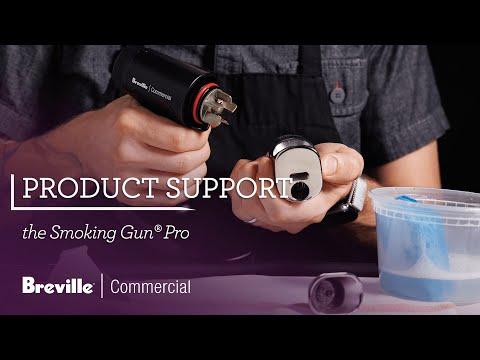 Cleaning the Smoking Gun® Pro