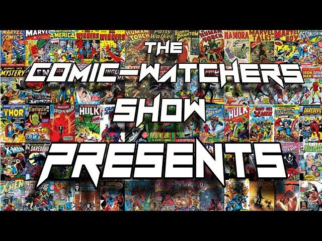 Guest Sandy Jimenez, artist, writer and director, - Comic Watchers Show Presents