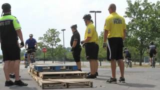 IC Hosts Police Bike Training