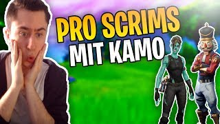 Pro Scrims mit Kamo | Funny Moments | Fortnite