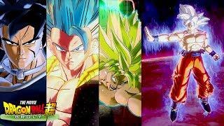 Ultra Instinct Goku Vs All DBS Broly Movie Characters Frieza, Bardock, Paragus, Broly, Gogeta & More