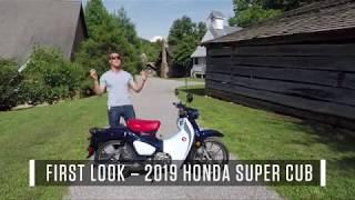 2019 Honda Super Cub - First Look Review