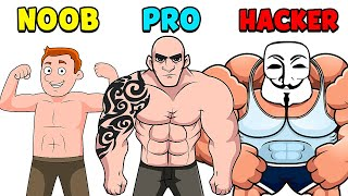 NOOB vs PRO vs HACKER - Slap Kings