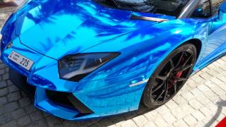 Lamborghini and Rolls Royce Burj Al Arab Dubai
