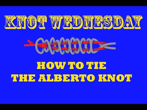 How to tie the Alberto Knot - Strongest Braid to Florocarbon Knot