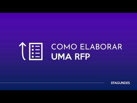 Como elaborar uma RFP
