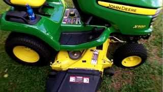John Deere X500 Walk Around