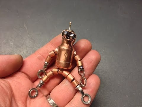 How to Build a Robot Keychain
