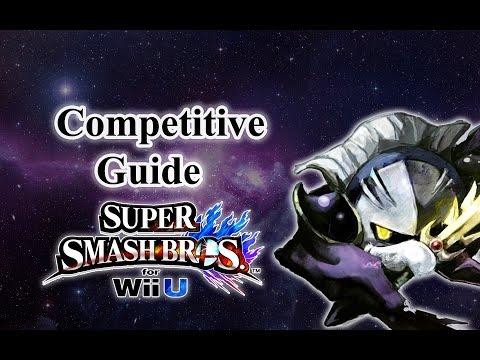 Super Smash Bros. for Wii U - Meta Knight Competitive Tutorial