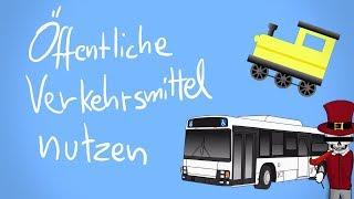 Öffentliche Verkehrsmittel richtig nutzen [Tutorial] - Tommys lehrreiche Lehrfilme #Satire