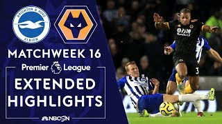 Brighton v Wolves  PREMIER LEAGUE HIGHLIGHTS  120819  NBC Sports