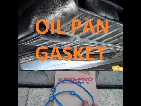 HOW TO Replace Oil Pan Gasket GM 3400 V6 Detailed Guide ...