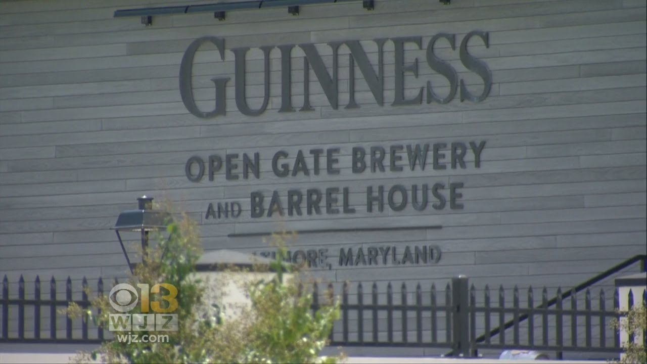 Guinness' only US brewery opens in Baltimore County