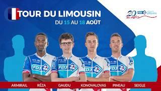 Composition de l'équipe FDJ pour le Tour du Limousin