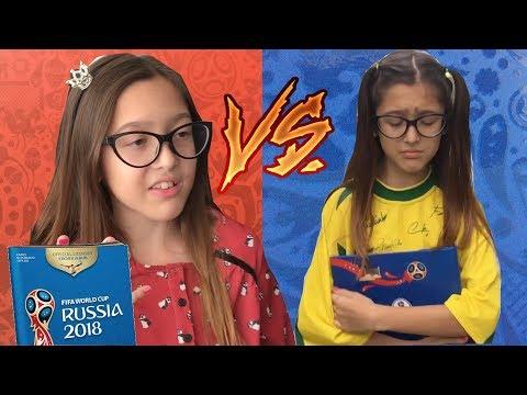 RICO VS POBRE - PARTE 1 - ALBUM DE FIGURINHAS DA COPA 2018