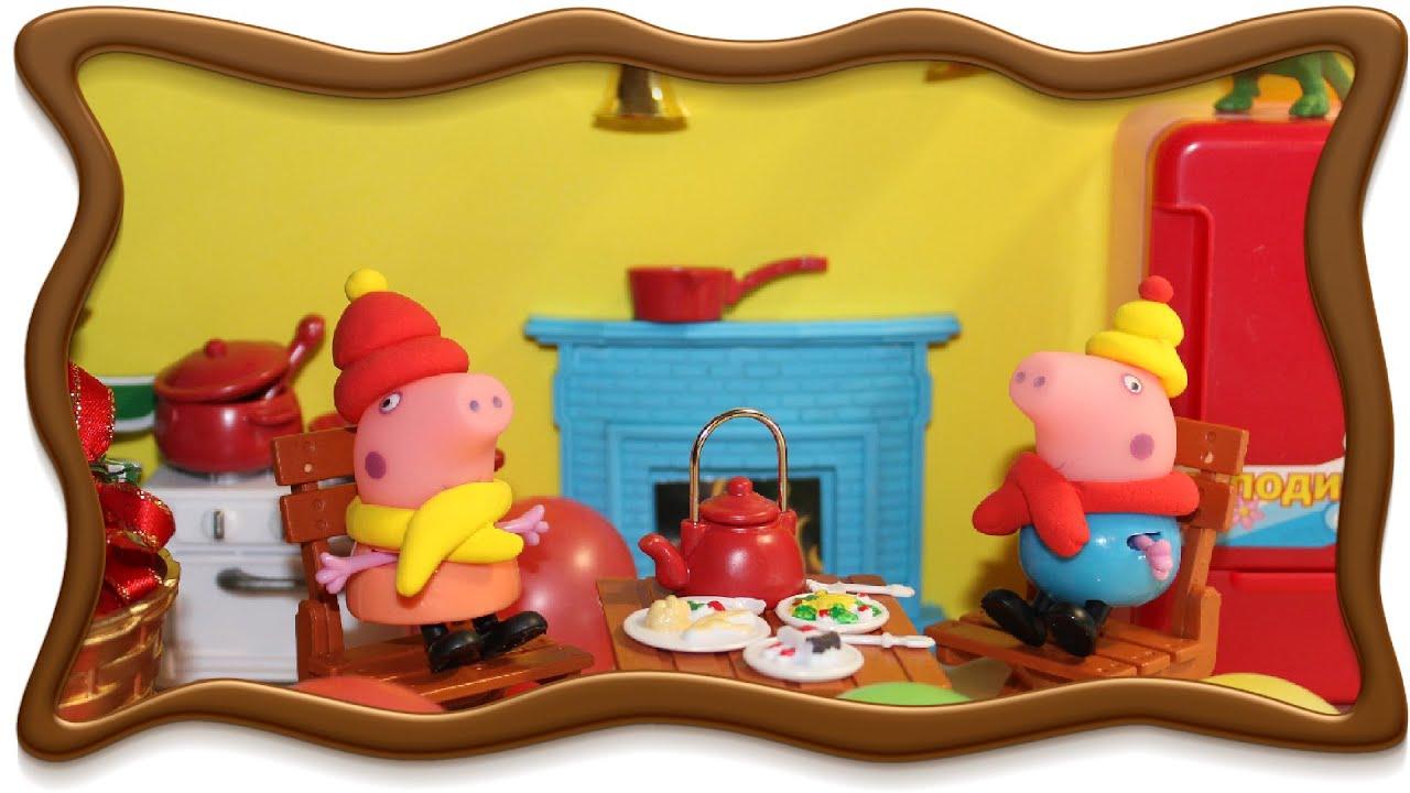 #Свинка Пеппа #мультфильм для детей из игрушек. #Свинка ...