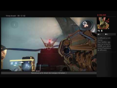 PS4 destiny dlc4 en direct de RaZer-StOrm(PuLs-ReDoXx) rush assaut epique