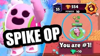 SPIKE is OP?! YDE brawl stars