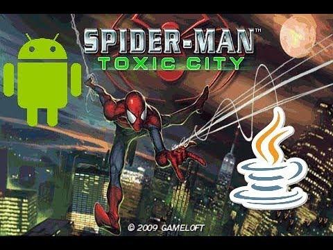 Spider Man Toxic City Game Java Pra Android Download #Gameplay